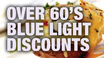 Over 60's and Blue Light