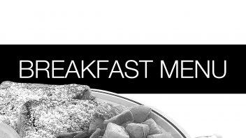 Breakfast Menu (COVID19)
