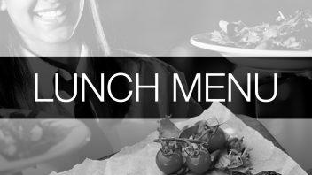 Lunch Menu (COVID19)