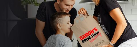 DAMON'S DRIVE THRU - OPEN AGAIN!